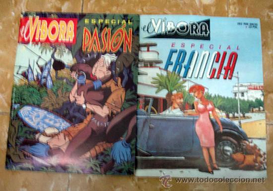 EL VIBORA. ESPECIAL FRANCIA Y ESPECIAL PASIÓN (Tebeos y Comics - La Cúpula - El Víbora)