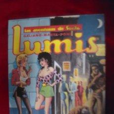Cómics: LUMIS - LAS AVENTURAS DE SARITA - GALIANO & MARTA & PONS - TAPA BLANDA. Lote 101792106