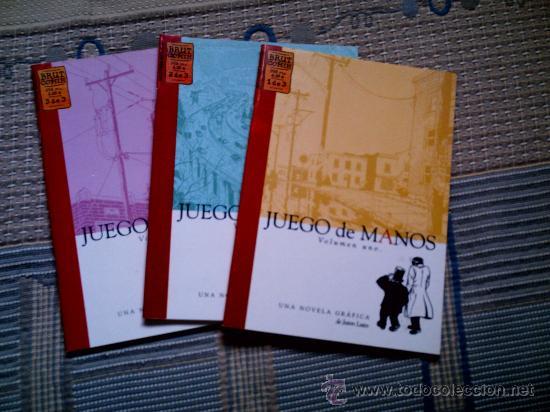 JUEGO DE MANOS Nº 1 A 3 (COLECCION COMPLETA) (COL. BRUT) DE JASON LUTES (Tebeos y Comics - La Cúpula - Comic USA)