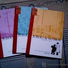 Cómics: JUEGO DE MANOS Nº 1 A 3 (COLECCION COMPLETA) (COL. BRUT) DE JASON LUTES. Lote 28339132