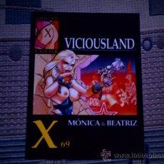 Cómics: VICIOUSLAND (COL. X Nº 69)(MONICA Y BEATRIZ). Lote 28240210