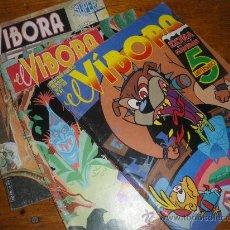 Cómics: 3 COMICS DE EL VIBORA. 61 102 Y 103.. Lote 28817929