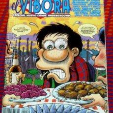 Cómics: EL VIBORA Nº ESPECIAL COMIX UNDERGROUND. COMICS PARA ADULTOS. COMICS ESPAÑOL.. Lote 29198819