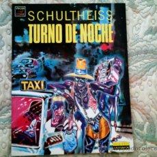 Cómics: TURNO DE NOCHE, DE SCHULTHEISS (EDIT LA CUPULA, RUSTICA, COLOR). Lote 29950008