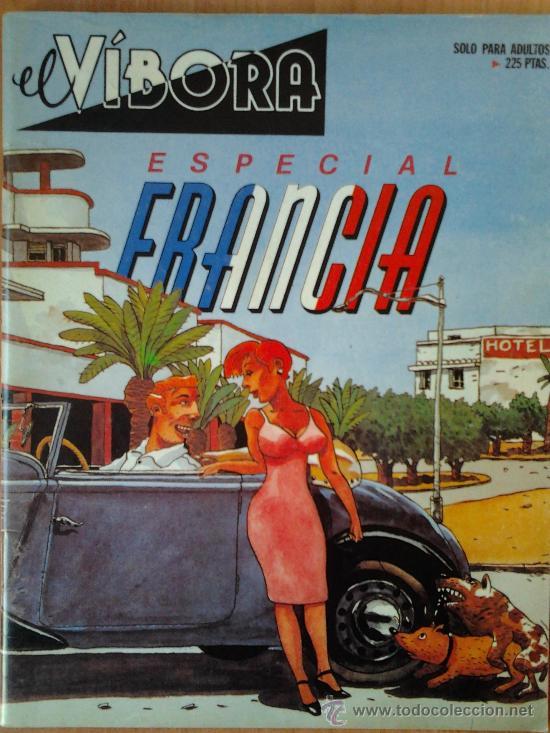 EL VIBORA- ESPECIAL FRANCIA (Tebeos y Comics - La Cúpula - El Víbora)