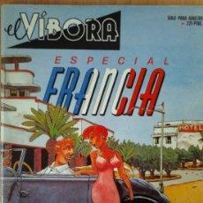 Cómics: EL VIBORA- ESPECIAL FRANCIA. Lote 30149641
