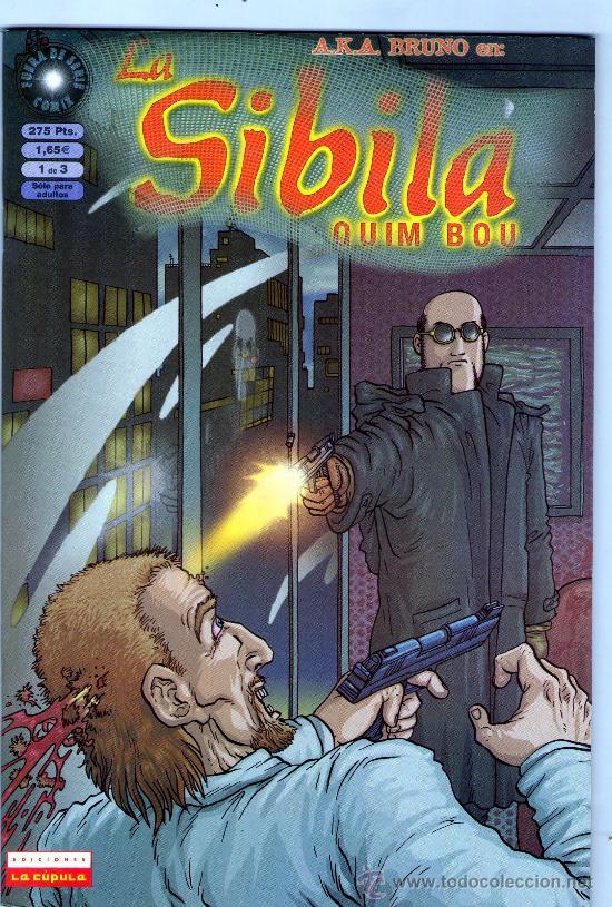 LA SIBILA-AÑO 2000-COLECCION COMPLETA DE 3Nº-BLANCO Y NEGRO-FORMATO CARTON-QUIM BOU (Tebeos y Comics - La Cúpula - Comic Europeo)