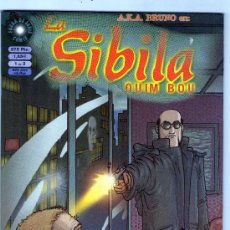 Cómics: LA SIBILA-AÑO 2000-COLECCION COMPLETA DE 3Nº-BLANCO Y NEGRO-FORMATO CARTON-QUIM BOU. Lote 30278032