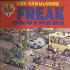 Cómics: COMIC-FREAK BROTHERS-NUM. 5-GILBERT SHELDON-LA CUPULA. Lote 30288465