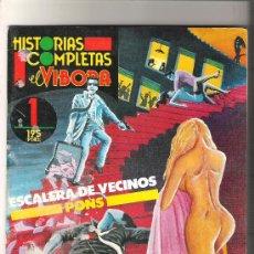 Cómics: ESCALERA DE VECINOS - PONS - HISTORIAS COMPLETAS Nº 1. Lote 30333749