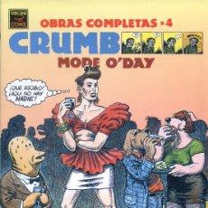 Cómics: CRUMB - OBRAS COMPLETAS Nº 4 - MODE O'DAY - LA CÚPULA 1ª EDICIÓN 1991. Lote 30317263