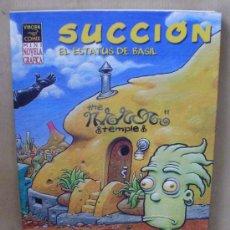 Cómics: SUCCIÓN – 1ª ED. AÑO 2004 – MINI NOVELA GRÁFICA – LA CÚPULA – NUEVO (PRECINTADO). Lote 94612764