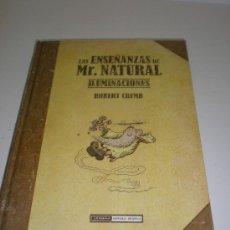 Cómics: LAS ENSEÑANZAS DE MR. NATURAL: ILUMINACIONES - ROBERT CRUMB - LA CUPULA. Lote 30948122