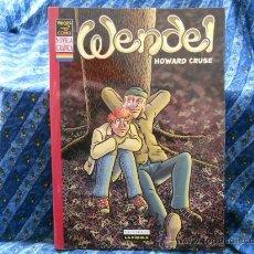 Cómics: WENDEL Nº 1 NOVELA GRÁFICA DE HOWARD CRUSE EDITORIAL LA CÚPULA 2004. Lote 30995813