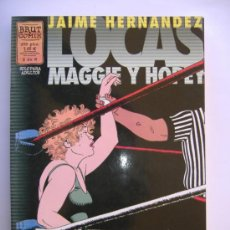 Cómics: BRUT COMIX..2 DE 6.LOCAS MAGGIE Y HOPEY.JAIME HERNANDEZ. Lote 31215137