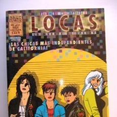 Cómics: BRUT COMIX..1 DE 4.LOCAS LA MUERTE DE SPEEDY.JAIME HERNANDEZ. Lote 31215171