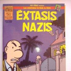Cómics: BRUT COMIX.EXTAXIS NAZIS.HISTORIAS COMPLETAS PEP PEREZ. Lote 31215182