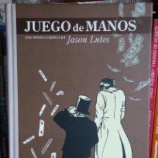Cómics: JUEGO DE MANOS, DE JASON LUTES. Lote 31704885