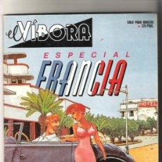 Cómics: EL VIBORA ESPECIAL FRANCIA. Lote 31847684