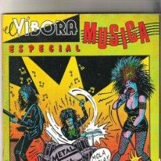 Cómics: EL VIBORA ESPECIAL MUSICA. Lote 31847794