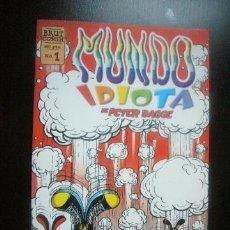 Cómics: MUNDO IDIOTA - PETER BAGGE Nº 1 - BRUT COMIX - LA CUPULA .C8. Lote 32009264