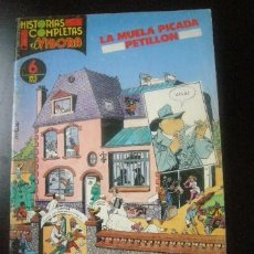 Cómics: HISTORIAS COMPLETAS VIBORA Nº Nº 6 LA MUELA PICADA POR PETILLON LA CUPULA . Lote 32062013