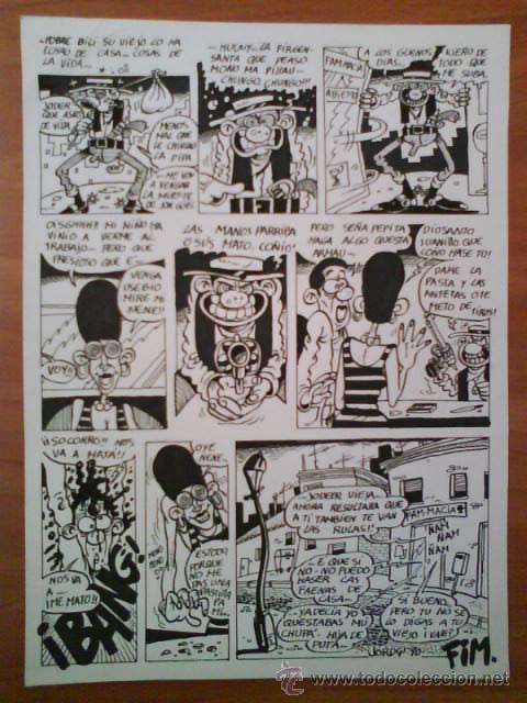 ORIGINALES COMIC UNDERGROUND (Tebeos y Comics - La Cúpula - Autores Españoles)