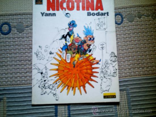 NICOTINA, DE YANN Y BODART (LA CUPULA) (Tebeos y Comics - La Cúpula - Comic Europeo)