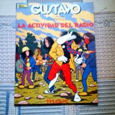 Cómics: GUSTAVO CONTRA LA ACTIVIDAD DEL RADIO, DE MAX. Lote 32277060