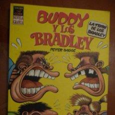 Cómics: BUDDY Y LOS BRADLEY. PETER BAGGE. COMPLETA EN DOS TOMOS.. Lote 32401038