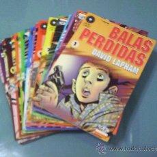 Cómics: BALAS PERDIDAS. NÚMEROS 1 AL 22. LA CÚPULA.. Lote 32491899