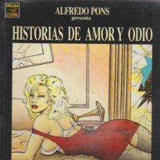 Cómics: HISTORIAS DE AMOR Y ODIO. VÍBORA COMIX.. Lote 58959780