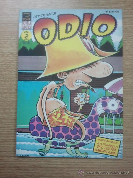 ODIO #2 4ª EDICION (PETER BAGGE) (Tebeos y Comics - La Cúpula - Comic USA)