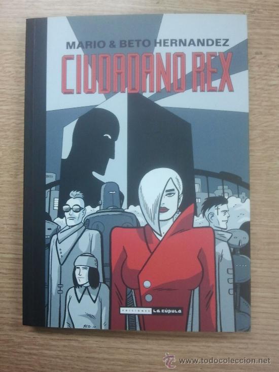CIUDADANO REX (MARIO Y BETO HERNANDEZ) (Tebeos y Comics - La Cúpula - Comic USA)