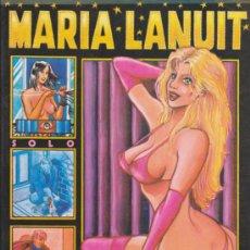 Cómics: MARÍA LANUIT. NOCTURNO Y OTRAS HISTORIAS.. Lote 58959895