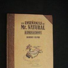 Cómics: LAS ENSEÑANZAS DE MR. NATURAL - ILUMINACIONES - ROBERT CRUMB - LA CUPULA - . Lote 33105376