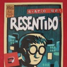 Cómics: DIARIO DEL RESENTIDO, AUTOR, JUACO VIZUETE. EDICIONES LA CUPULA AÑO 1998. Lote 33127742