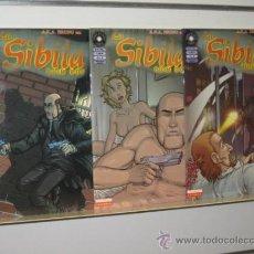 Cómics: LA SIBILA COMPLETA 3 NUM. LA CUPULA OFERTA. Lote 99346558