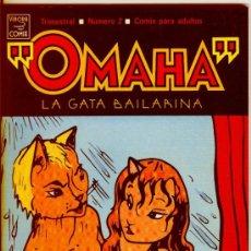 Cómics: OMAHA LA GATA BAILARINA Nº 2 - 1990 LA CÚPULA 1ª EDICIÓN. Lote 33532929