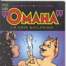 Cómics: OMAHA LA GATA BAILARINA Nº 4 - 1990 LA CÚPULA 1ª EDICIÓN. Lote 33532934