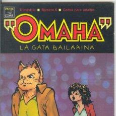 Cómics: OMAHA LA GATA BAILARINA Nº 6 - 1990 LA CÚPULA 1ª EDICIÓN. Lote 33532938