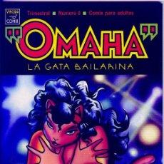 Cómics: OMAHA LA GATA BAILARINA Nº 8 - 1990 LA CÚPULA 1ª EDICIÓN. Lote 33532941