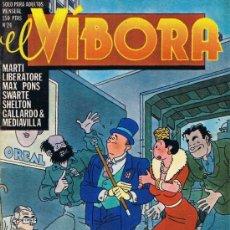 Cómics: EL VÍBORA - Nº 24 - MARTI - LIBERATORE - MAX - PONS - SHELTON - GALLARDO - MEDIAVILLA. Lote 34402974