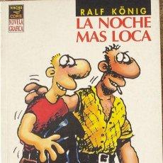 Cómics: PROMOCION KONIG: LA NOCHE MAS LOCA, DE RALF KONING, NOVELA GRÁFICA COMPLETA. Lote 34480530