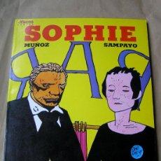 Cómics: SOPHIE – MUÑOZ / SAMPAYO – ED LA CÚPULA, AÑO 1984, 1ª EDICIÓN – NUEVO. Lote 34480789