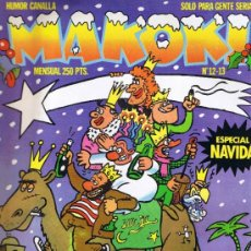 Cómics: MAKOKI - Nº 12-13 - DICIEMBRE-ENERO 1984 - ESPECIAL NAVIDÁ - CALENDARIO - HUMOR CANALLA. Lote 34495733
