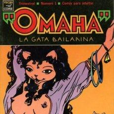 Cómics: OMAHA, LA GATA BAILARINA [TOMOS 1 AL 3]. Lote 34517228