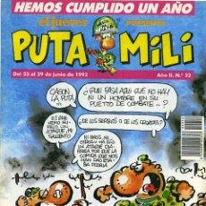 Cómics: EL JUEVES PRESENTA PUTA MILI LOTE DE 14 Nº. Lote 34699533