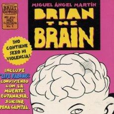 Cómics: BRIAN THE BRAIN Nº1. Lote 35142813