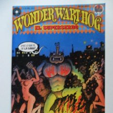 Cómics: WONDER WART-HOG . EL SUPERSERDO . Nº 2. Lote 35180192